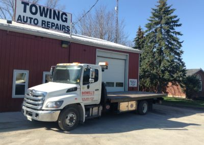 Bidwell's Towing office